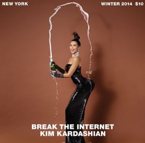 Kim Kardashian West Champagne