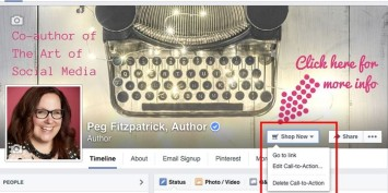 FB Call to Action Button